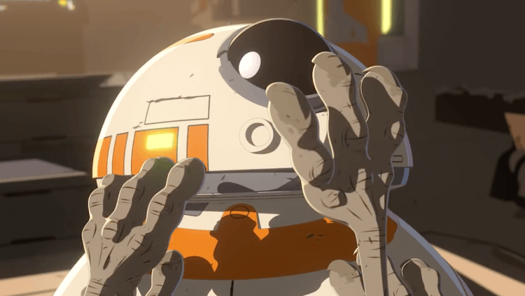 BB-8 Stars In New Star Wars Resistance Short