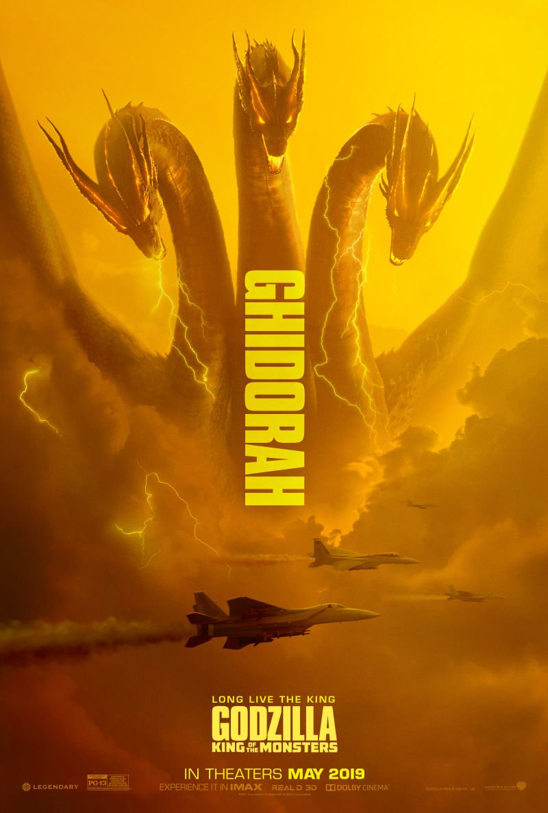 Godzilla: King of the Monsters Ghidorah