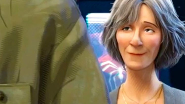 ily Tomlin Aunt May Spider-Man: Into The Spider-Verse