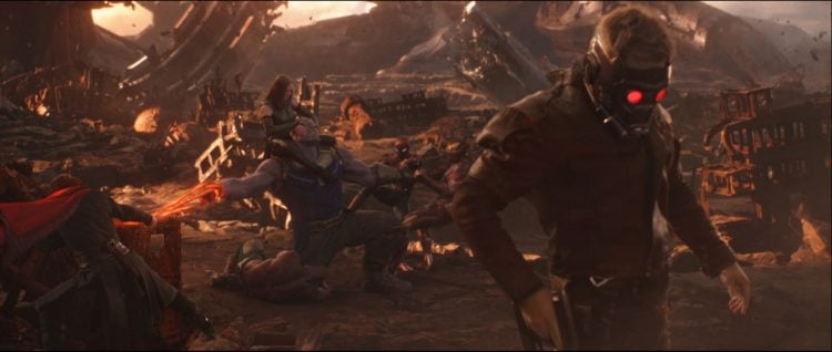 Russo Brothers Thanos Avengers: Infinity War Star-Lord