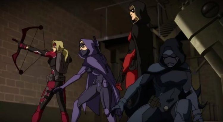 Batgirl Young Justice: Outsiders