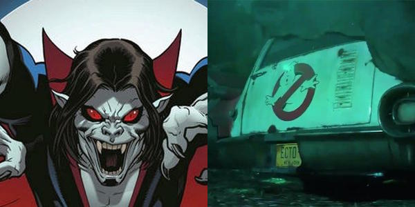Sony Announces Release Dates For Ghostbusters And Morbius