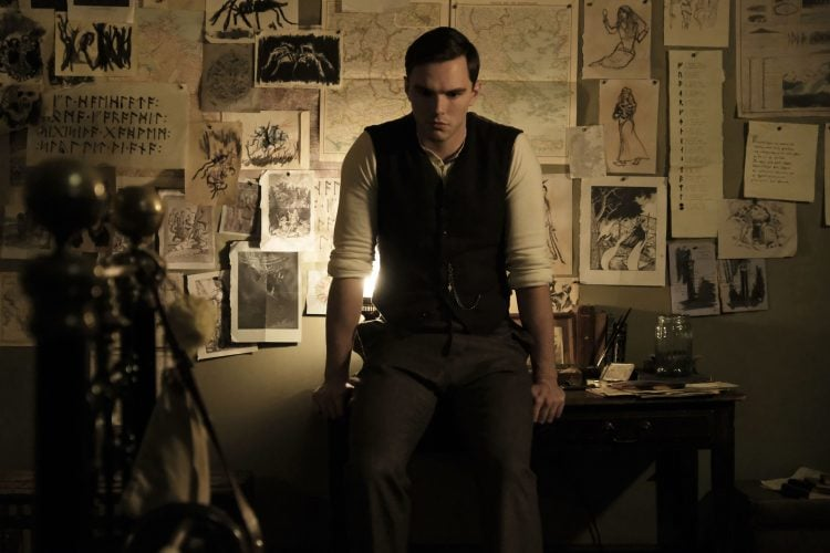 The First Shots Of Nicholas Hoult As Tolkien Have Been Released