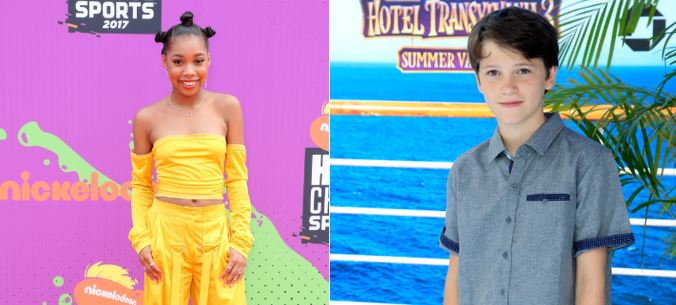 Gabriel Bateman and Kyla-Drew Simmons cipher