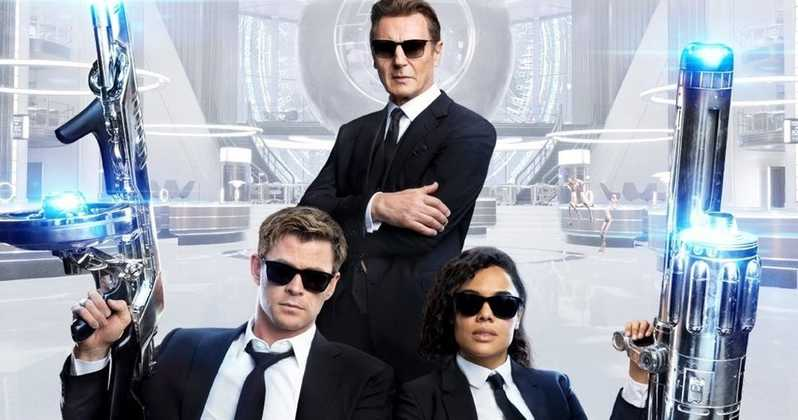 Liam Neeson Men In Black: International