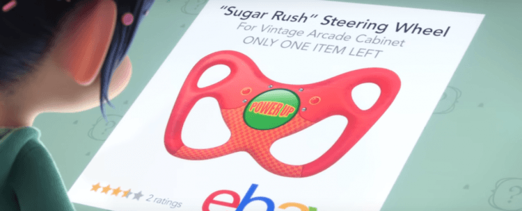 Sugar Rush Steering Wheel Ralph Breaks The Internet
