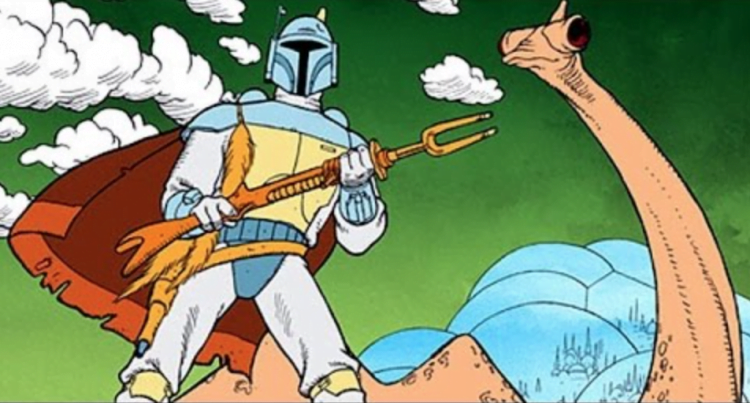 The Mandalorian Contains Easter Eggs Referencing The Star Wars Holiday Special And The Ice Cream Man