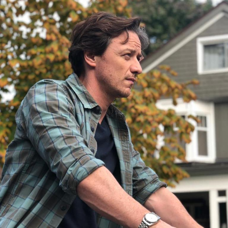 Catch A Glimpse Of James McAvoy As Grown-Up Bill In 'It: Chapter Two'