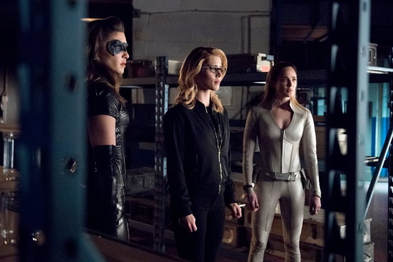 arrow: lost canary