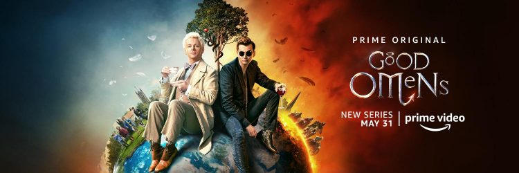 Neil Gaiman Shares That There Are Multiple 'Doctor Who' Easter Eggs In 'Good Omens'