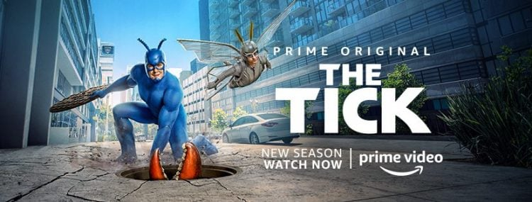 The Tick Explores The Amazing Break Room Of A.E.G.I.S. In This Season 2 Clip