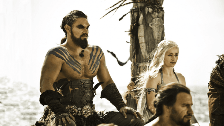 Jason Momoa in Game of Thrones