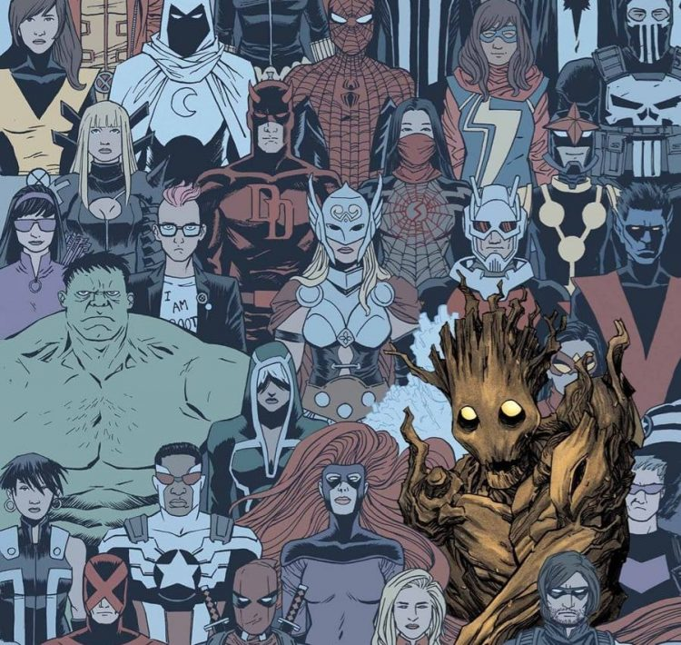 Comic Archive: 'Groot' (2015)