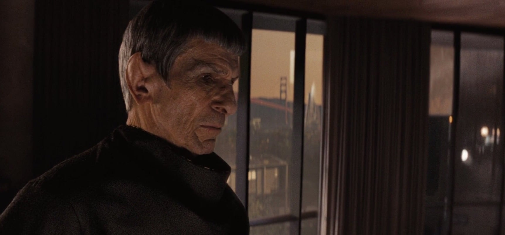 Leonard Nimoy in Star Trek (2009)
