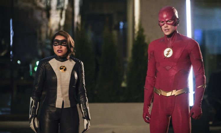 The Flash and Nora