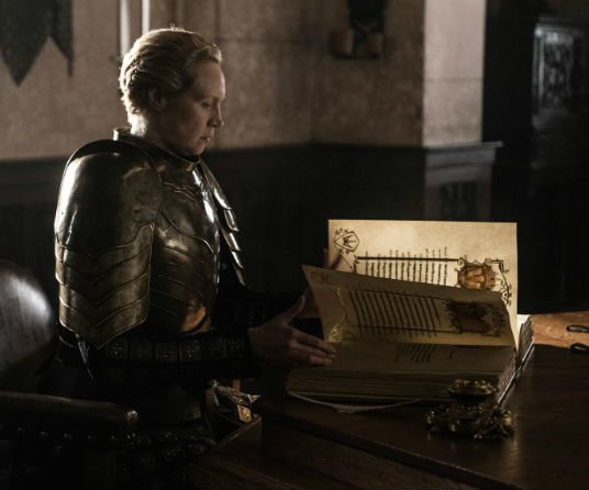 TV Review: Game of Thrones: The Iron Throne Brienne