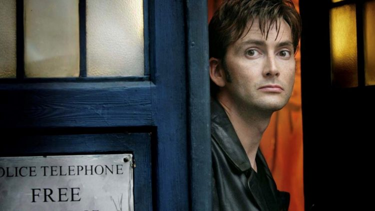 David Tennant as the 10th Doctor in 'Doctor Who'