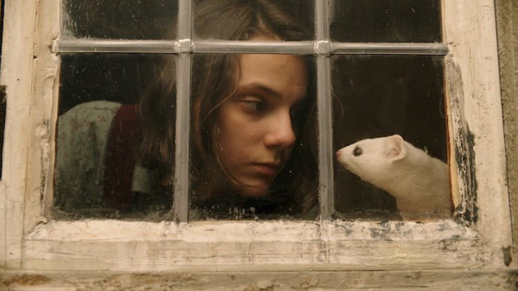 screenshot from the trailer of 'His Dark Materials'