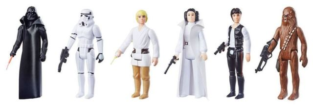 Hasbro And Target Offer Replicas Of The Original 'Star Wars' Action Figures