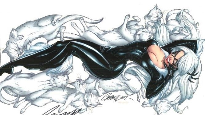 Amy Pascal Implies That A 'Black Cat' Movie Is Still In The Works At Sony