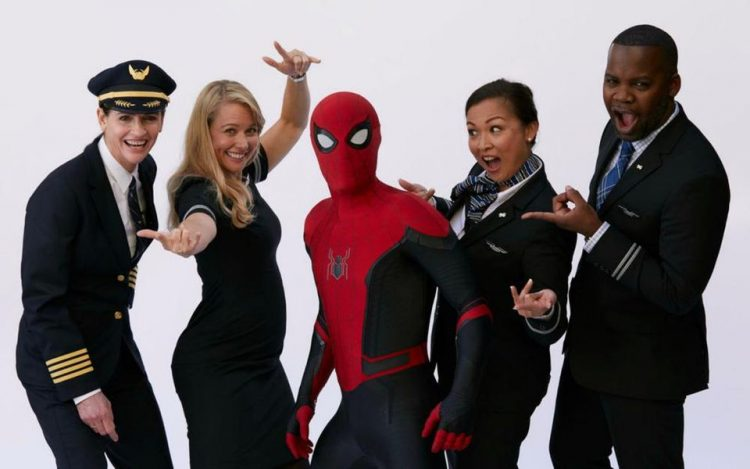 Spider-Man: Far From Home And United Airlines Partnership
