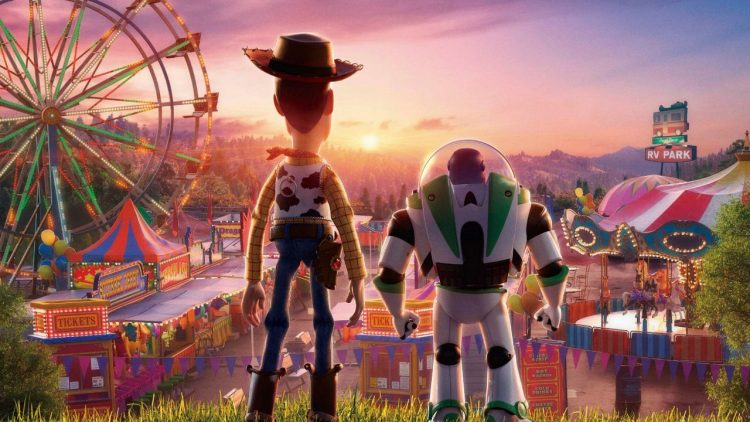 Toy Story wins the weekend box office