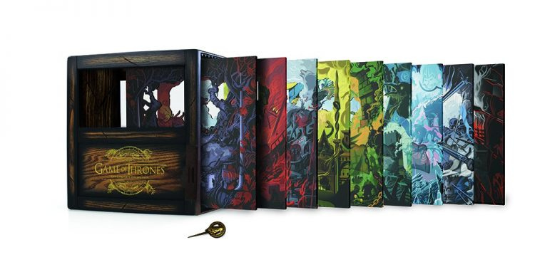 The Limited Edition 'Game Of Thrones: The Complete Collection' Is Beautiful