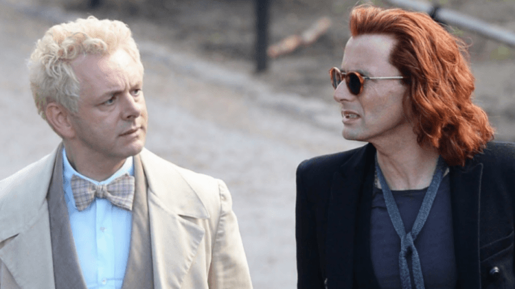 good omens episode 3 Michael Sheen