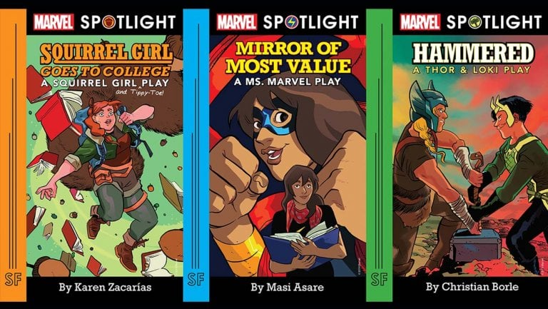 Marvel Launches High School Play Program Featuring Squirrel Girl, Ms. Marvel, Thor And Loki
