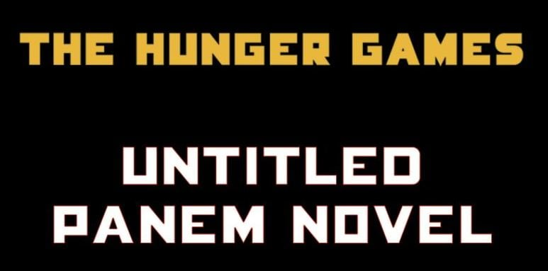 the hunger games prequel