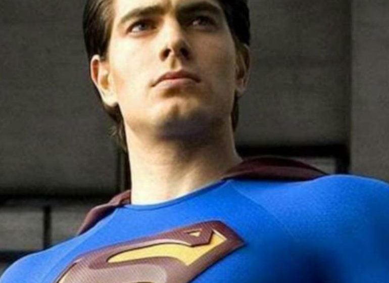 Brandon Routh as Superman slider image