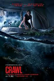 Crawl crawled over the weekend box office