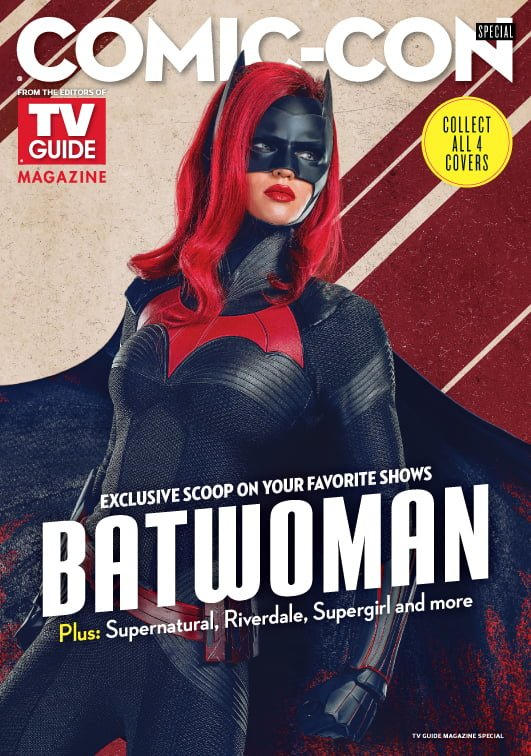 Ruby Rose's Batwoman Graces Her First Cover On One Of Four TV Guide Comic-Con Specials