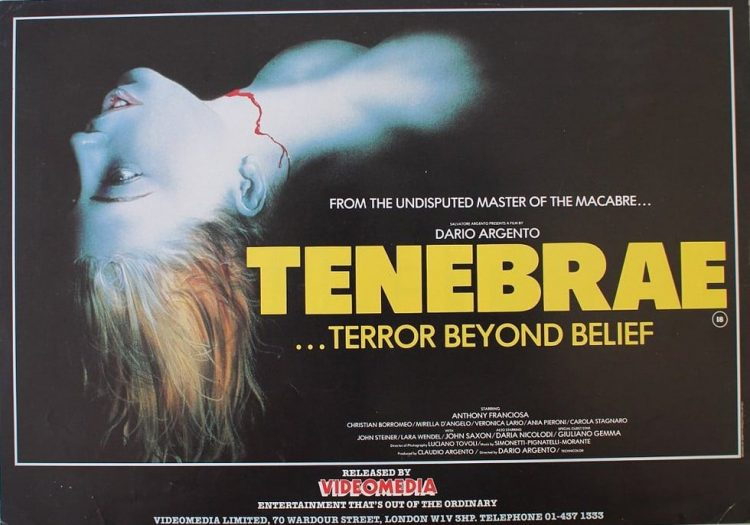 Throwback Thursday: Tenebrae (1982)
