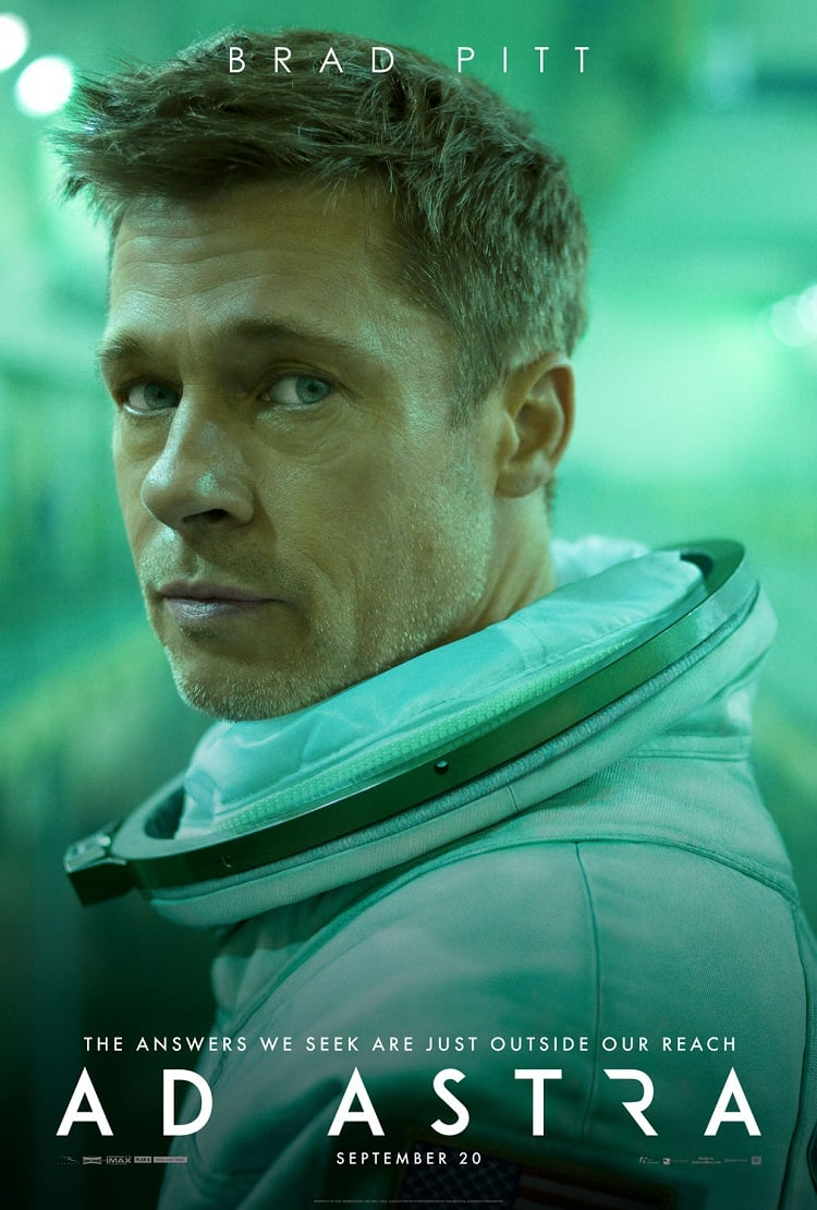 Weekend Box Office (9/20-9/22): Brad Pitt Got His 'Ad Astra' Kicked By Your Grandma's New Favorite Movie