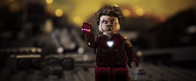 Check Out The Iron Man 'Avengers: Endgame' Snap Recreated In LEGO