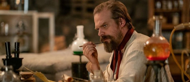 Frankenstein's Monster's Monster, Frankenstein david harbour