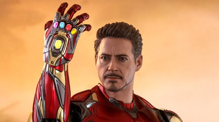 Toy News Tuesday Tony Stark with the infinity gauntlet