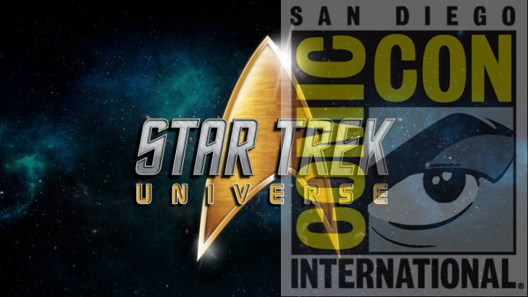 Star Trek beams down to SDCC