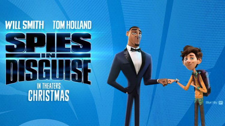 Spies In Disguise one sheet