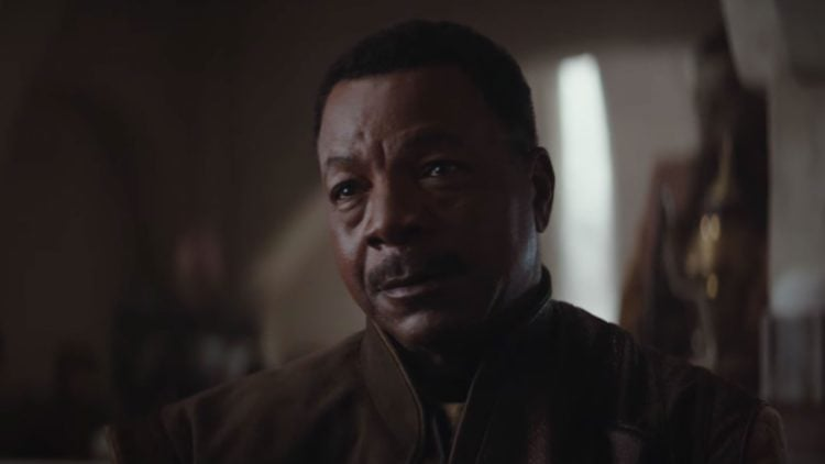 carl weathers in  The Mandalorian