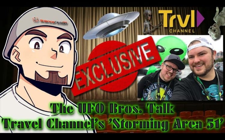 Exclusive Interview: The UFO Bros. Talk Travel Channel's 'Raiding Area 51'
