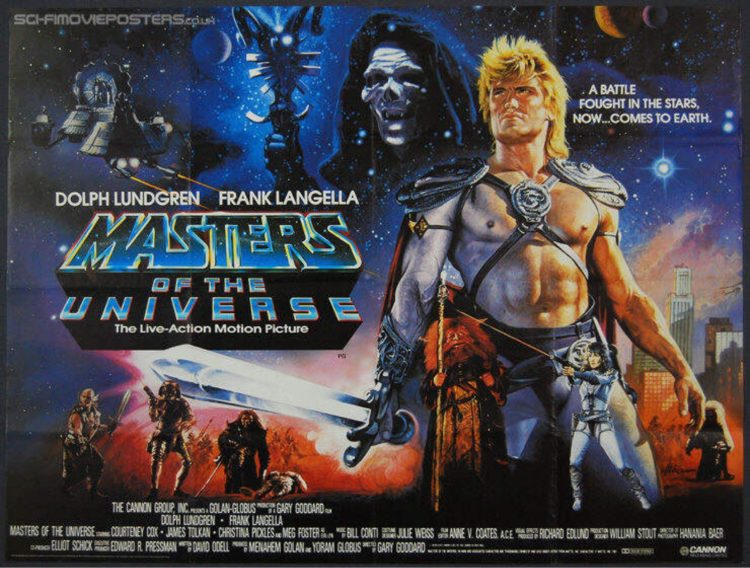 Throwback Thursday: Masters of the Universe (1987)
