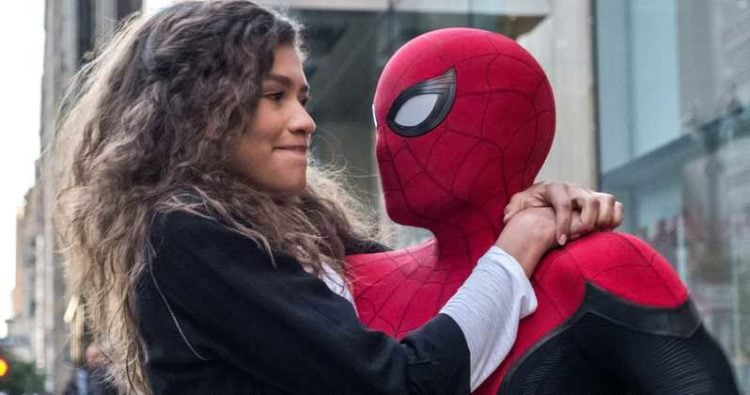 Tom Holland And Zendaya in 'Spider-Man: Far From Home'