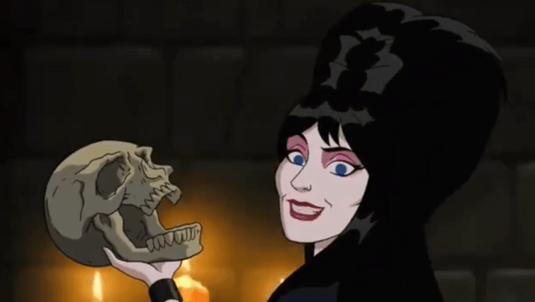 Elvira Gets Animated In This Clip From 'Scooby-Doo: Return To Zombie Island'