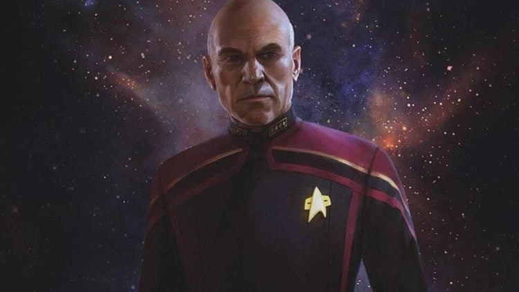 Get Your First Look At The New Admiral Uniform From 'Star Trek: Picard'