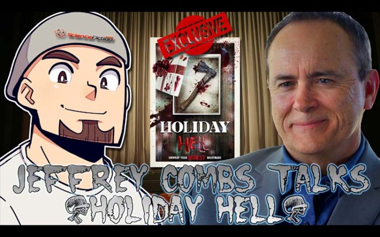Exclusive Interview: Jeffrey Combs Talks 'Holiday Hell'