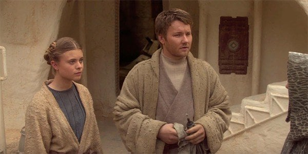 13. Joel Edgerton as Owen Lars in Attack of the Clones and Revenge of the Sith.