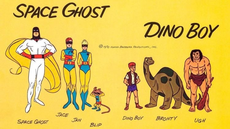 Super Saturday: 'Space Ghost And Dino Boy In The Lost Valley of Time' (1966)