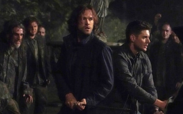 CW Supernatural Back and to the Future